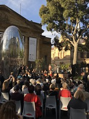tarnanthi / john mawurndjul opening-11 (bill doyle [mobile]) Tags: traditional indigenous aboriginal abstract iphone7plus culture billdoyle exhibition opening southaustralia aborigine event southaustralian sa art artgalleryofsouthaustralia opening2018 artexhibition adelaide artist artwork iphone7 openingnight cultural agsa