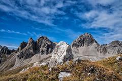 Hermannskartspitze und Marchspitze (stefangruber82) Tags: alpen alps tirol tyrol mountains berge rocks felsen herbst fall