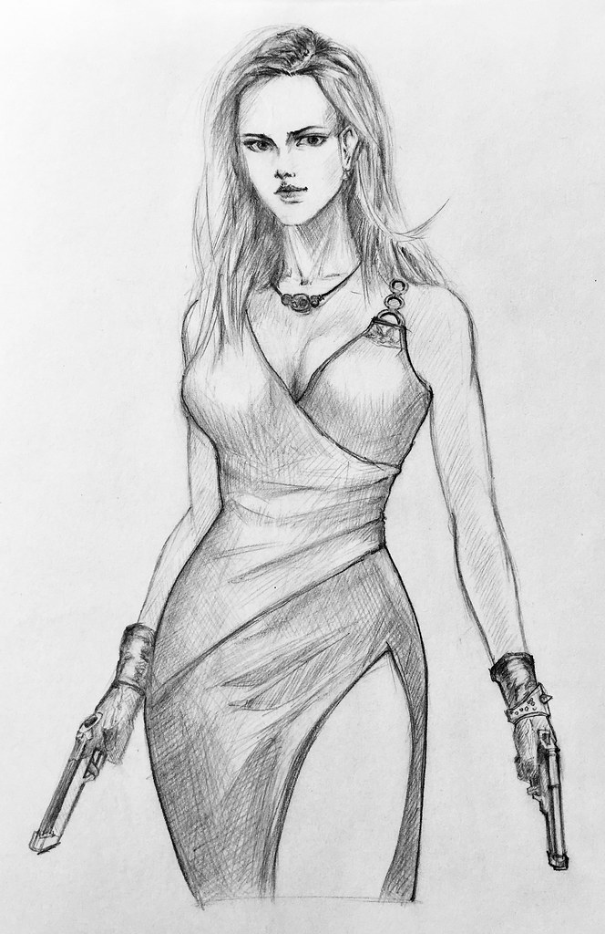 Bad sexy girls of Drawings