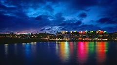 The lakes in Copenhagen on a 35mm kodak ektar 100 film (ulrikmadsen403) Tags: analogue 35mm analog longexposure reflektion bluehour nørrebro søerne københavn copenhagen kodakektar kodak