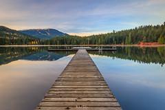 The Big Dock (michaelsabijon) Tags: lakes lost lake whistler beautfulbritishcolumbia docks reflection canoncanada eos7d sigmawideangle