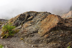Rock Formation (AdagioatMSN) Tags: yellow aster butte mountbaker fallcolors hiking