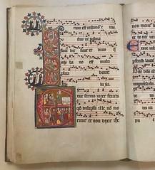"Manuscrit ""Das Graduale"" de l'antic monestir de Santa Caterina, 1312, cantó de Turgòvia, Suïssa. (heraldeixample) Tags: heraldeixample bcn barcelona ciutadella upf spain espanya españa spanien catalunya catalonia cataluña catalogne catalogna bibliotecaupf libraryupf upflibrary manuscrit manuscrito manuscript facsimile katahrinenthal diessenhofen suisse suissa suiza abadia abbey schweizerischen gregorian monges nuns monjas haas universitat universidad university ngc gothic gòtic gótico albertdelahoz"