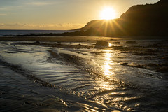 Sunset on Caswell Bay's outgoing tide (theboylight) Tags: sunset landscape caswellbay gower caswell caswell2018