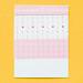 Cute pink handmade valentines card