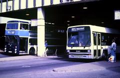Slide 125-27 (Steve Guess) Tags: doncaster south yorkshire england gb uk bus station leyland lynx c920fmp west riding