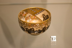 Meiji Japanese monkey bowl (quinet) Tags: 2017 antik asia canada ontario rom royalontariomuseum toronto ancien antique