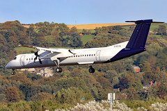G-ECOK_07 (GH@BHD) Tags: gecok dehavilland bombardier dhc dhc8 dhc8402q dasheight be bee flybe sn bel brusselsairlines turboprop airliner aircraft aviation bhd egac belfastcityairport