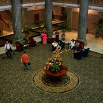 Salt Lake City - Utah - The Joseph Smith Memorial Building  aka Hotel Utah  - Lobby Area thumbnail