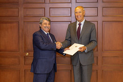 Azerbaijan Joins the Marrakesh Treaty (WIPO | OMPI) Tags: wipo ompi assembliesofthememberstatesofwipo assemblies bilateralmeeting francis gurry dg directorgeneral francisgurry azerbaijan