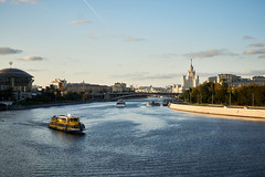 The Moskva River in the Red Hills area. (GlebLv) Tags: sony a6000 minolta minoltaaf35704 city cityscape moscow river moscowriver architecture evening