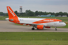 G-EZFL Airbus A319-111 Eassyjet Airlne Company Stansted 02nd June 2018 (michael_hibbins) Tags: gezfl airbus a319111 eassyjet airlne company stansted 02nd june 2018 g airliner airline uk british britain aircraft aeroplane aviation aerospace airplane aero airport airports civil commercial passanger passenger