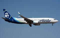 N592AS, Boeing 737-890, Alaska Airlines (planebrains) Tags: n592as boeing737890 boeing boeing737 lasvegas las klas april 2018