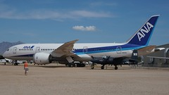 Boeing 787-83Q Dreamliner in Tucson (J.Comstedt) Tags: aircraft flight aviation air aeroplane museum airplane us usa planes pima space tucson az boeing 787 n787ex
