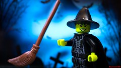 witch (black.zack00) Tags: halloween witch wizard fun lego minifig minifigure toy toys photography
