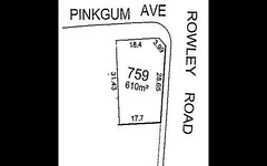 Lot 759 Pinkgum Avenue, Aldinga Beach SA