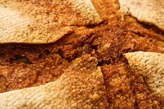 Crossing    #MacroMondays#B-food (M Chiara B) Tags: macromondays bfood bread