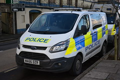 Photo of Devon & Cornwall Police | Ford Transit | Cell Van | WA66 DZR