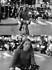 [La Mia Città][Pedala] con bikeMI (Urca) Tags: milano italia 2018 bicicletta pedalare ciclista bike bicycle nikondigitale scéta ritrattostradale portrait dittico biancoenero blackandwhite bn bw 115854 bikemi bikesharing