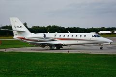 C-GLMI (Skyservice Business Aviation) (Steelhead 2010) Tags: skyservice cessna c680 citation bizjet yhm creg cglmi