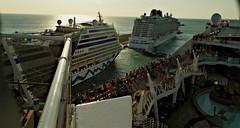 Cruise ships (portalealba) Tags: civitavecchia italia portalealba pentax pentaxk50 1001nights 1001nightsmagiccity 1001nightsmagicwindow