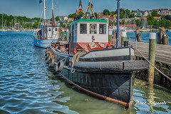 Tugboat Jonny, Flensburg Germany (Peter Beljaards) Tags: tug tugboat johnny flensburg nikon nikon240850mmf3545 boat germany hafensbugsierschlepper sleepboot havensleepboot