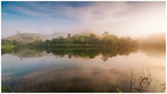 Morning Fog (=Heo Ngốc=) Tags: beautiful foggy fog morning mountains lake reflection mirror naturallandscape landscape vietnam nikon sunrise atmosphere sunlight
