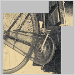 Who recognizes this brand of women's bike? - Detail 2031 (letterlust) Tags: letterlust damesfiets frauenrad womensbike vélopourfemmes