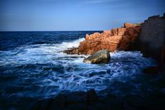 Rosso (Sante sea) Tags: mare sea sardegna sardinia ogliastra long exposure