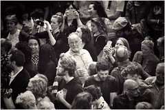 Someone in the crowd (gro57074@bigpond.net.au) Tags: f28 70200mmf28 d850 nikon candidphotography sydney be bw mono monotone monochrome blackwhite diversity faces people