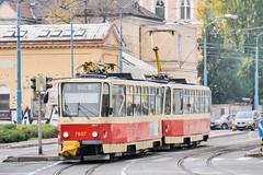 BTS_7937_201811 (Tram Photos) Tags: ckd tatra t6a5 bratislava dopravnýpodnikbratislava dpb strasenbahn tram tramway električková mhd električka