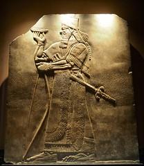P8272179 (simonrwilkinson) Tags: cambridge cambridgeshire fitzwilliammuseum museum limestone relief assyrian ashurnasirpal iraq