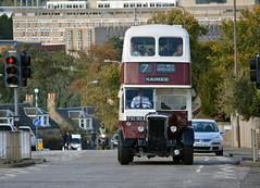 135 (Callum's Buses and Stuff) Tags: daimler meto edinburghcorporation mader edinburghedinburgh madderandwhite madder madderwhite cammell edinburgh metro edinburghbus lothian transport reginal lrt lothianbuses