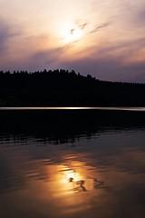 can you hear? (A.Iwańska) Tags: water woda zachód sunset nikon d610 fullframe fx natura naturelovers nature sky niebo trees drzewa polska poland polishphoto landscape