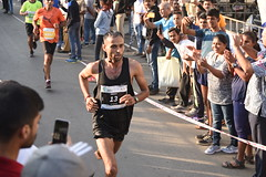 Vasai-Virar Full Marathon Winner 2018(2nd Prize) - Lal jee Yadav(Bib no.13,time:02:22:58)