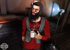 LOTD 295 (Brendo Schneuta) Tags: modulos hair hat beanie beard volkstone facial patane glasses browns shirts jacket hevo fatpack mancave hipster indigo fameshed equal10 event events releases new coffe poses pose backdrop male boy mens keepcalm blog bloggersl blogger secondlife second secondlifeblog sl moda fashion style estilo catwa signature bento virtual game avatar rustic photoshop