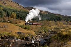 Black 5 No. 45212 - Glenfinnan Falls (Jonathon Gourlay) Tags:
