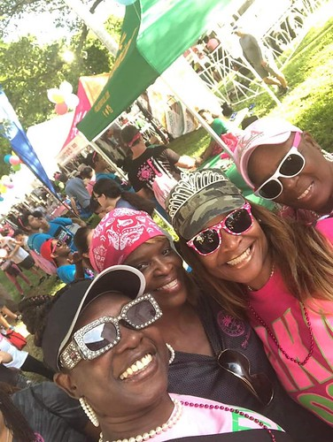 Team Fabulous participated in the Susan G. Komen 5K Breast Cancer Miami/Ft.Lauderdale walk