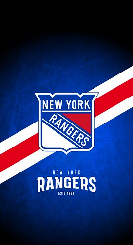 New York Rangers Nhl Iphone X Xs Xr Lock Screen Wallpaper