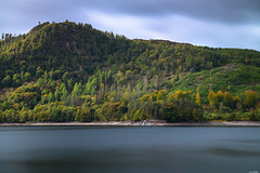 Green shore (Rico the noob) Tags: 2018 rock d850 lakedistrict 2470mm nature water mountains outdoor lake 2470mmf28 clouds trees stones beach rocks tree uk forest longexposure published sky dof hills coast landscape mountain