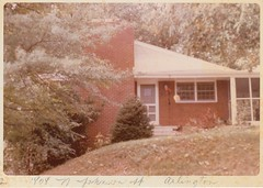 1970_11 1808 N. Johnson St. Arlington 01 (Ken_Mayer) Tags: mayer family vinsonhallclearout
