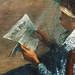 DEGAS Edgar,1880-81 - Le Foyer de la Danse (Philadelphie) - Detail 33-8470998--