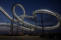 Tiger & Turtle (3) (Guido Rabea) Tags: sony 77m2 duisburg nacht industrie tigerandturtle