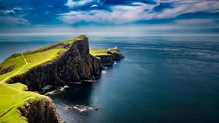 Neist Point Lighthouse, Isle of Skye - Scotland