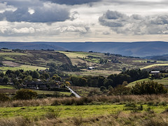 Over Saddleworth from Ogden Edge (Craig Hannah) Tags: newhey walk walking stroll lancashire saddleworth england uk october 2018 craighannah photography photos canon landscape