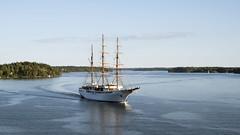 Sea Cloud II (zTomten) Tags: sea cloud ii 2 båtar fartyg boat ship passenger cruise kryssningsfartyg passagerarfartyg