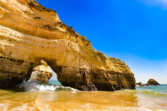 Praia da Rocha - Algarve, Portugal (mikederrico69) Tags: portugal beach water algarve praia da rocha portimao travel trip tropical seaside seascape sea ocean oceanscape oceanside rock mountain summer view colorful meditation reflections relaxation shoreline reflection exploration rocks