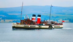 Scotland West Highlands Argyll the paddle steamer Waverley 13 July 2018 by Anne MacKay (Anne MacKay images of interest & wonder) Tags: scotland west highlands argyll sea cost paddle steamer waverley 13 july 2018 picture by anne mackay