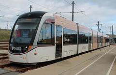Edinburgh Trams: 254 Gogar Tram Depot (emdjt42) Tags: edinburghtrams 254 gogartramdepot caf urbos edinburgh