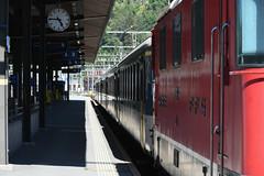 Ready to go (multituba) Tags: brig valais switzerland schweiz svizzera railway train station